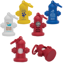 Fire Hydrant Pet Waste Bag Dispensers