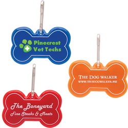 Paw Shaped Reflective Collar Tags