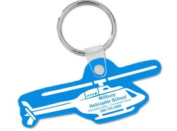 Helicopter Shaped Key Rings