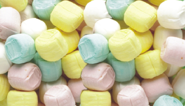 Individually Wrapped Soft Pastel Buttermints