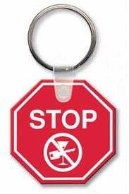 stop sign key tags