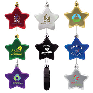 star shaped ornaments