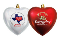 Heart Shaped Christmas Ornaments