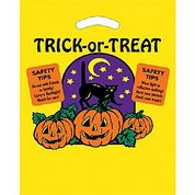 Plastic Trick or Treat Bags