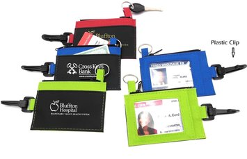 clip on ID holders