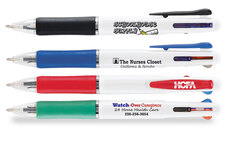 three color ink pens