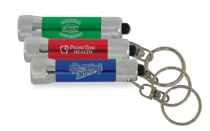 flashlight key rings