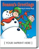 Season's Greetings coloring books